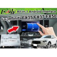 Buy cheap All-in-1 Android Auto Interface for Infiniti FX 35 FX37 FX50 Integration GPS from wholesalers