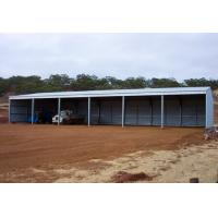 Portal Frame Style Structure Steel Sheds For Agriculture And Industry