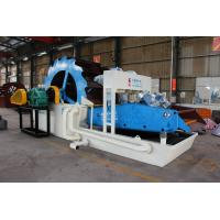 China High quality wheel type sand washer with dewatering and fines recycling for sale for sale