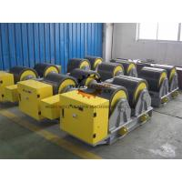Quality Manual Adjustable PU Tank Turning Rolls 40T Loading Capaicty CE Standard for sale