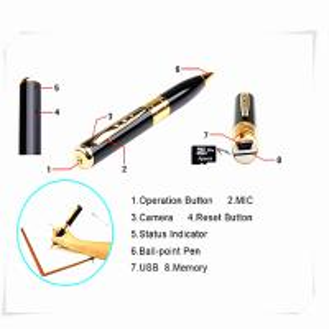 mini pen hidden micro camera mini dv dvr video camera  sky camera pen