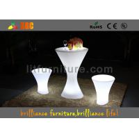RGB Outdoor Furniture Lighting With Glass Built-In Rechargeable Battery