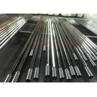 Quality T51 4265mm Threaded Steel Rod / Drill Extension Rod Customized Length for sale
