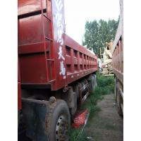 Quality 2015 Years Sino Dump Truck 371hp 8x4 12 Tires 30/ 40 Ton 75 Km/H Max Speed for sale