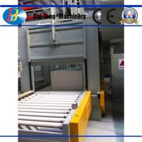 China Silicon Crucible Commercial Sandblasting Equipment , Abrasive Blasting Machine High Capacity on sale