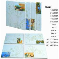 Quality Premier Art Painting Canvas For Printing 100% Natural Cotton Paulownia Or Fir Wood for sale