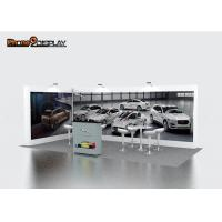 China 10x10 Pop Up Trade Show Booth Walls With Single And Double Sided Graphic Printing on sale