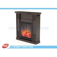 China Custom Design MDF Home Decor Fireplaces Solid Wood Veneer / Paint Finished on sale