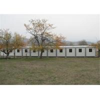 Quality Polystyrene Panel Residential Solid Prefabricated Conex Box Homes for sale