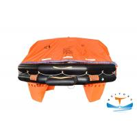 Quality A Pack Type Marine Life Raft 12 Man Capacity MSC.47 Standard For Emergency for sale