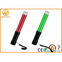 Battery Powered LED Traffic Wand ,  Multi Function Aircraft Marshalling Wands