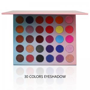 Buy cheap Powder Form Eye Makeup Eyeshadow DIY Choose Color Palette Custom Empty 30 Holes from wholesalers