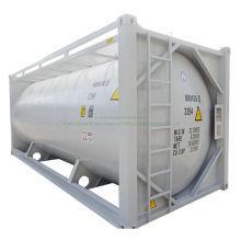 20FT Bulk Cement ISO Tank Container Customizing Transport Plaster Powder, Cement, Flyash Bulk Cement (ISO Tank)