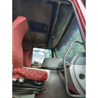 Quality 2015 Made Slightly Used Howo Dump Truck 8x4 Howo Tipper Truck Red Color for sale