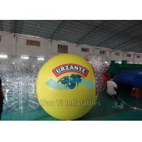 Quality Giant Helium Filled Balloons 2m - 5m Diameter Digital Printing With Logos for sale