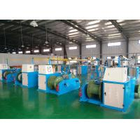 Quality Industrial Cable Production Equipment , Wire Extrusion Line 26x3.4x2.8m Size for sale