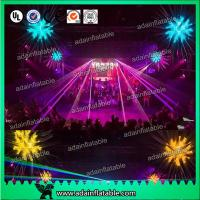 Quality Event Party Decoration Golden Silver 2M  Inflatable Star With LED Lighting for sale