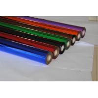 Red Blue Green Stamping Coloured Foil Rolls For Paper Box / Greeting Card