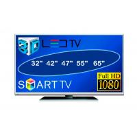 China 47 Inch LCD Flat Screen Televisions Super High Definition TV IR Remote on sale