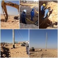 Light Pole Installation Near Me: 90 Ft Three Sections Galvanized Mono Pole Tower Round With