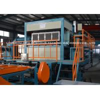 China High Speed Pulp Molding Machine , Paper Pulp Egg Tray Production Line on sale