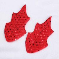 Quality Red Sequin Craft Christmas Decorations Contemporary Handmade Decorations for sale