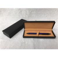Quality Black Painted Pen Gift Boxes Velvet Inside With High - Grade Protecting for sale
