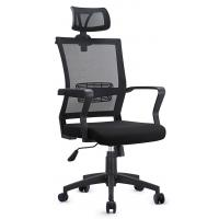 Quality Gas Lift Mesh Seat Office Chair , Head Up And Down Adjustable Computer Chair for sale
