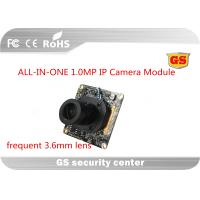 Quality One board High Definition CCTV Camera Module frequent 3.6mm lens wide angle for sale