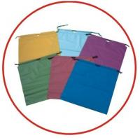 Buy cheap Colourful Plastic Drawstring Carrier Bags For Apparel / Garments / Clothing from Wholesalers