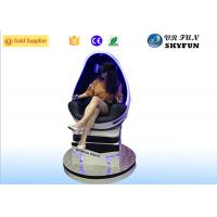 Fashion 1 Seat 9D Virtual Reality Motion Simulator With 360 Interactive Game