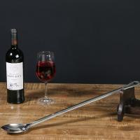 China Restaurant Large Stainless Steel Bar Spoon Size Home Brew Kit 61.5 X 6cm on sale