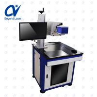 Quality 50w Co2 laser marking machine for nonmetal material laser marker for glasses plastic wood lether rober pcb for sale