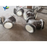 Quality diameter 700 mm length 500mm ceramic pasting steel pipe for sale
