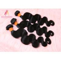 Quality 10A Grade Virgin Human Hair Body Wave Malaysian Bundles Natural Colour for sale