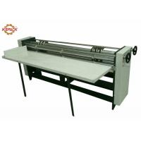 China Manual Feeder Slitting Cutting Creasing Machine / Slitter Cutter Creaser on sale