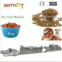 Quality SUS 304 Multiple Capacities Pet Food Making Machine With Famous Brand Parts for sale