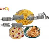 Quality Sus NSK Bearings Breakfast Cereal Production Line Making Corn Flakes for sale