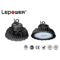 Quality High Power Industrial UFO High Bay Light Efficiency 160lm/w 120° Alloy Aluminium Housing for sale