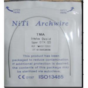 Quality TMA NITI Rectangular Wire Ovoid Form 1pcs/bag SE-O029 for sale