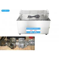 Quality 40KHz Heated Ultrasonic Parts Cleaner , Ultrasonic Cleaner For Motorcycle Carbs for sale