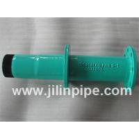 Quality ductile iron pipe fittings, flange spigot pipe with puddle flange for sale