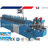 Quality Rolling Shutter Slat Sheet Metal Roll Forming Machines With Automatic Punching / Cutting for sale