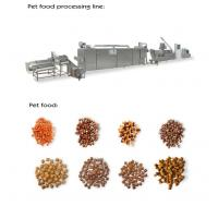 Quality 800-1000kg / Hr Pet Food Extruder Machine , Electric / Steam Pet Food Production Line for sale