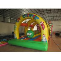 Quality Kis inflatable bounce house with caterpillar inside hot arch modeling inflatable jump house for sale