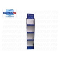 Quality Visual full color Printed Cardboard Shelf Display Bloom the Chemist floor free standing unit for sale