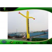 Quality Advertising Standing Inflatable Air Dancers 2m With Certified Blower UV Printing for sale