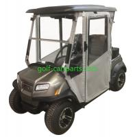 China 3 Sided Golf Cart Enclosures With Hard Doors 2 Passenger Golf Cart Cover on sale
