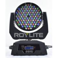 Quality Theatre 108 x 3w RGBW Moving Head Led Lights Beam Angle 25° Super Bright for sale