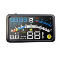 Over Speed Alarm 4e Hud Powertrain 5.5 Heads Up Display , OBD2 Vehicle Car Windscreen Display